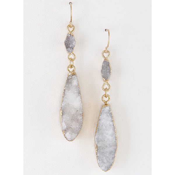 Romance The Stone Earrings - Prairie Rose Boutique