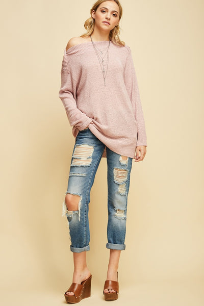 Janice Sweater - Prairie Rose Boutique