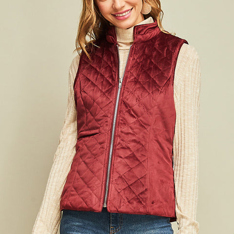Holly Vest - Prairie Rose Boutique