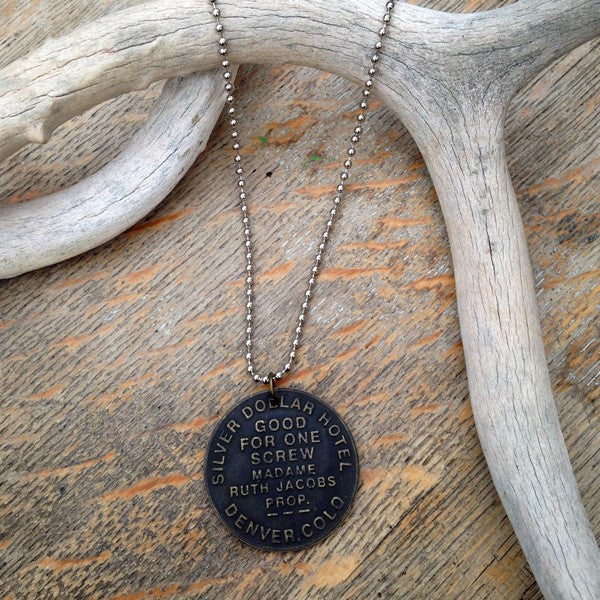 Harlot Coin Necklace - Prairie Rose Boutique
