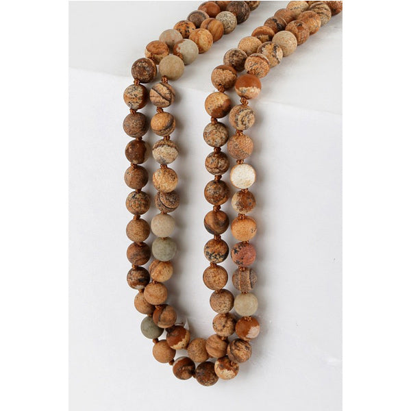 Jasper Wrap Necklace - Prairie Rose Boutique