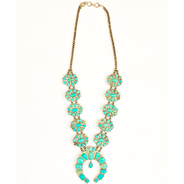 Big Sky Squash Blossom Necklace - Prairie Rose Boutique