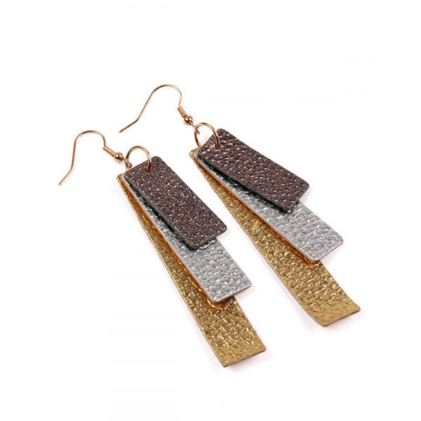 Laramie Leather Earrings - Prairie Rose Boutique