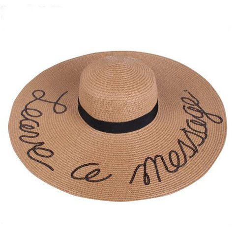 Leave A Message Floppy Hat