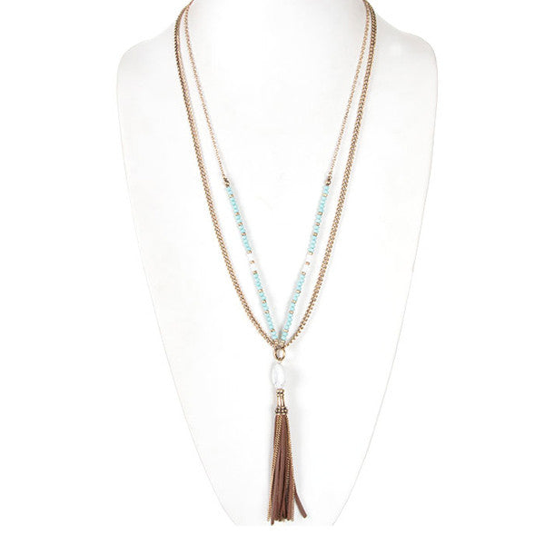 Long & Lovely Necklace - Prairie Rose Boutique
