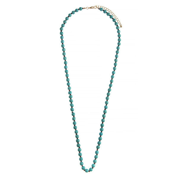 Summer Vibes Turquoise Necklace - Prairie Rose Boutique