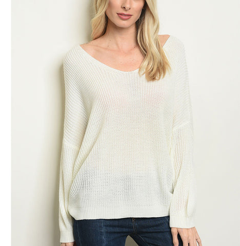Marissa Sweater - Prairie Rose Boutique