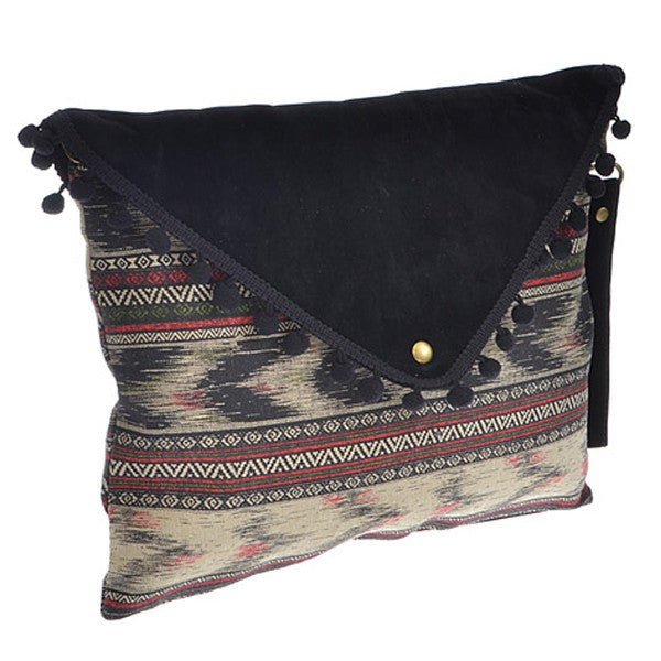 Oversized Aztec Clutch - Prairie Rose Boutique