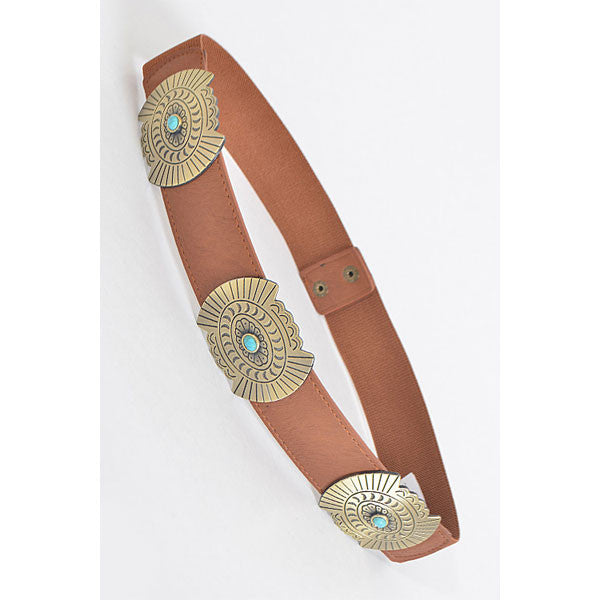 New Mexico Belt - Tan - Prairie Rose Boutique