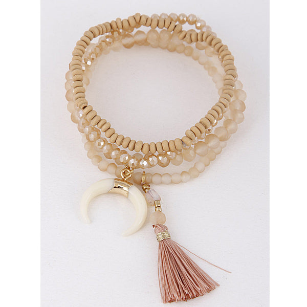 Just Peachy Bracelet - Prairie Rose Boutique