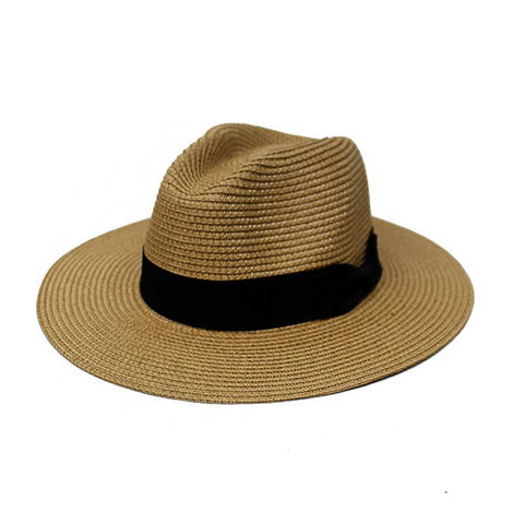 Panama Hat - Tan - Prairie Rose Boutique