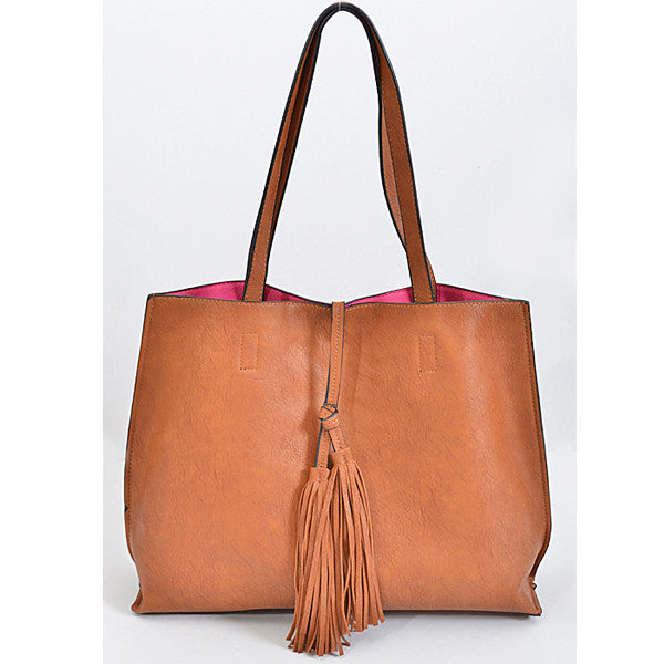 Summer Vibes Reversible Tote - Prairie Rose Boutique