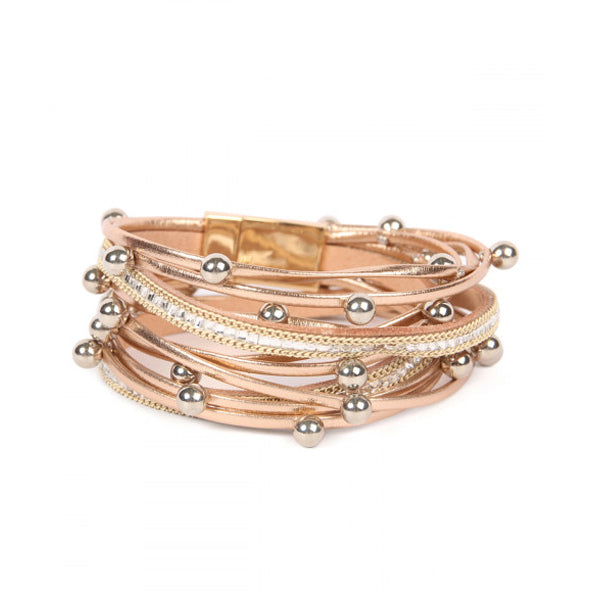 Gold Wrap Bracelet - Prairie Rose Boutique