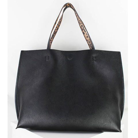 Reversible Tote - Black