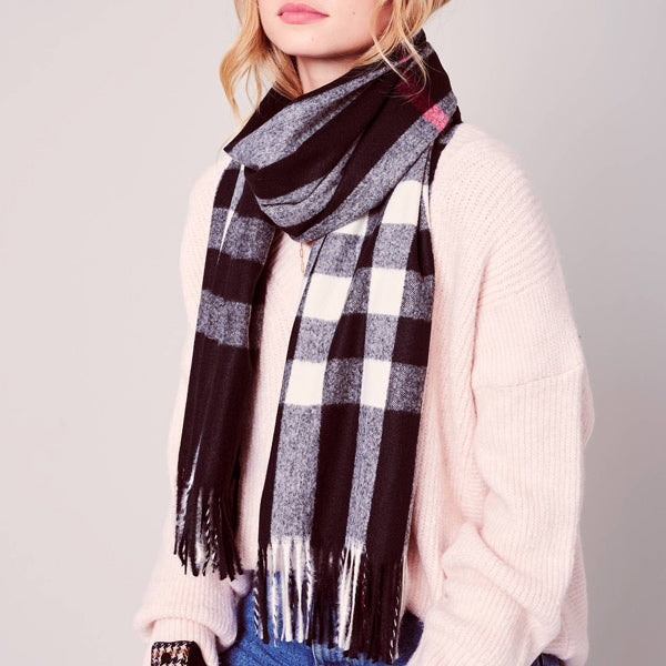 Holiday Plaid Scarf