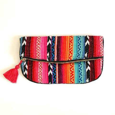 Serape Clutch - Prairie Rose Boutique