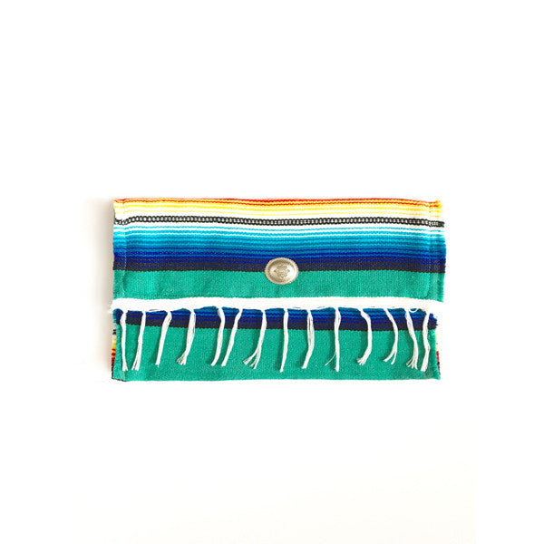 Oversized Serape Clutch