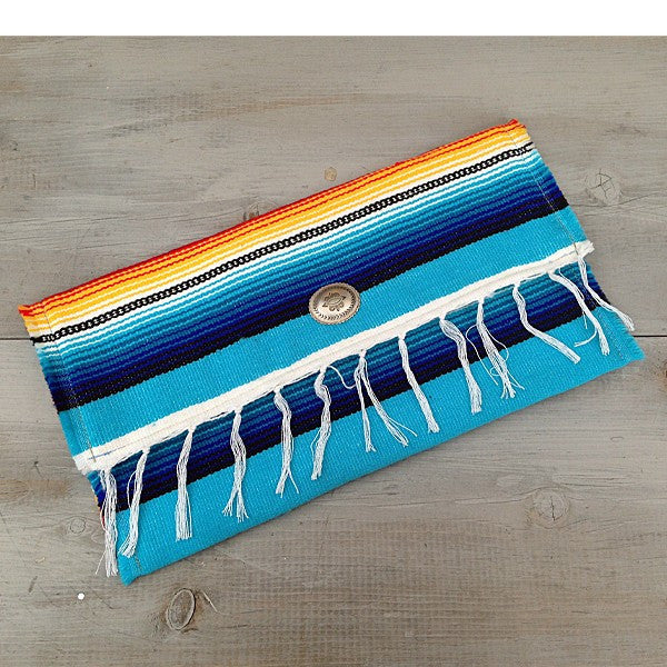 Oversized Serape Clutch - Prairie Rose Boutique