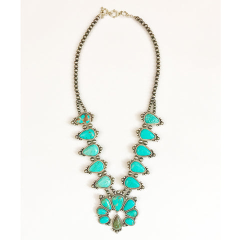 Cheyenne Squash Blossom Necklace - Prairie Rose Boutique
