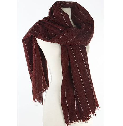 Everyday Scarf - Wine