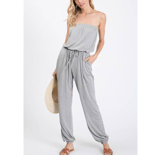 Susan Jumpsuit - Prairie Rose Boutique