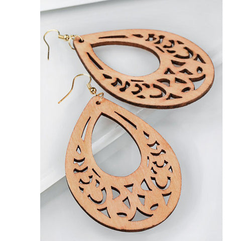 Tiki Earrings - Prairie Rose Boutique