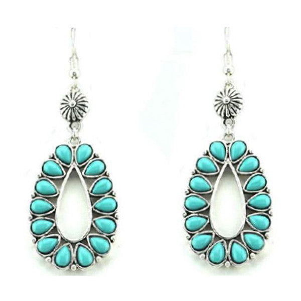 Odessa Turquoise Earrings - Prairie Rose Boutique
