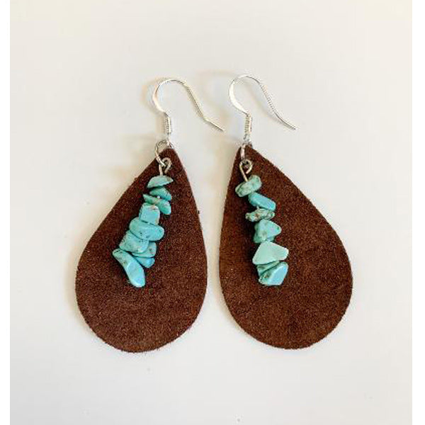 Tulsa Earrings - Brown - Prairie Rose Boutique