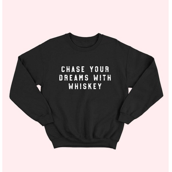 Whiskey Dreams Sweatshirt - Prairie Rose Boutique