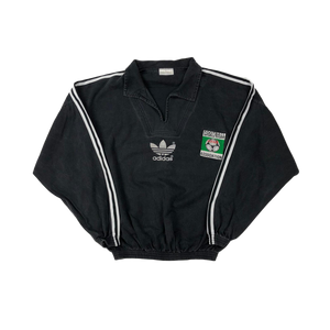 90's Adidas drill top