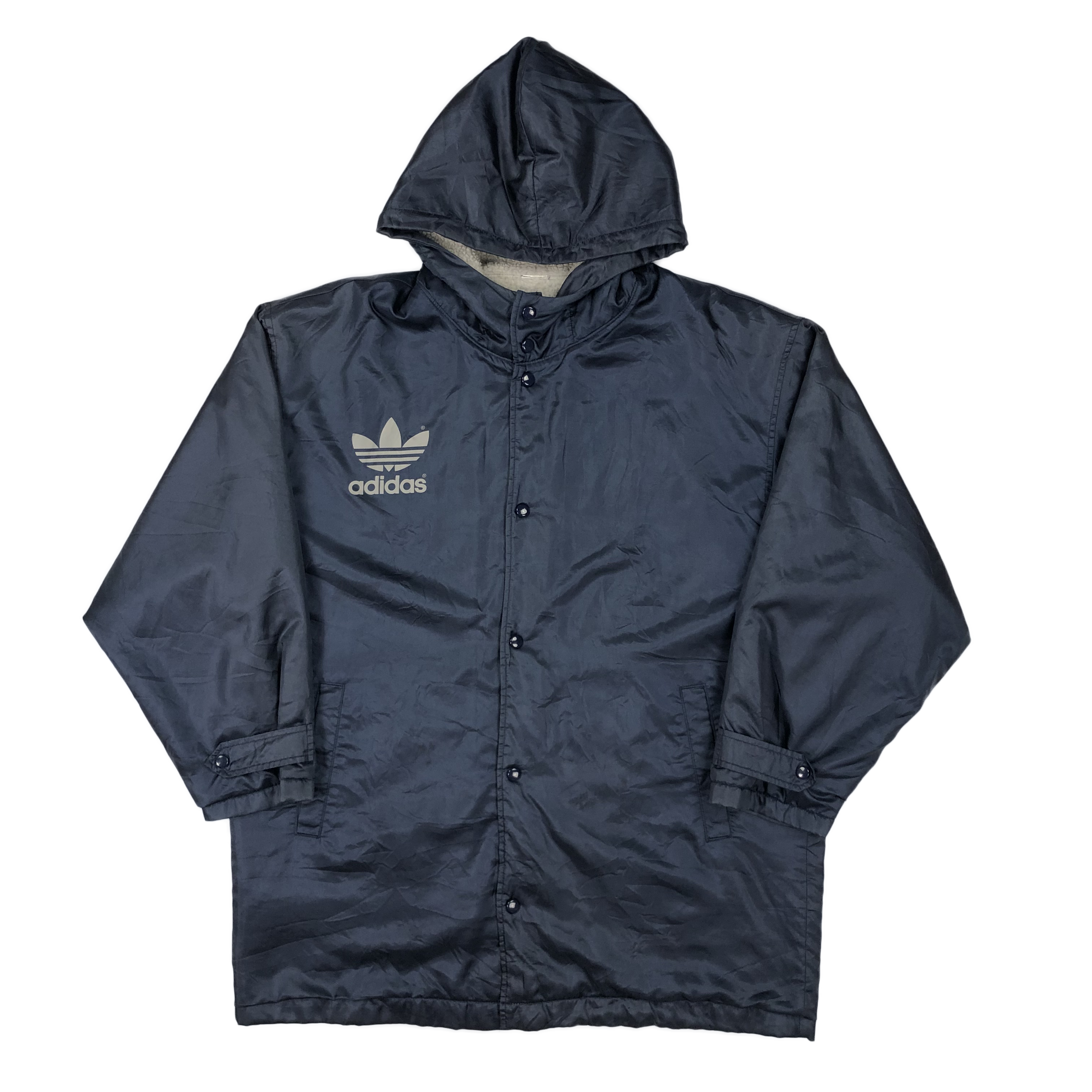 Adidas parka fleece lined jacket