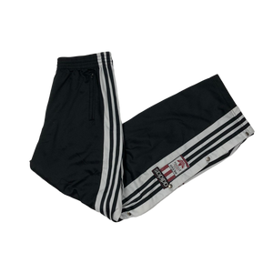 Adidas poppers track pants