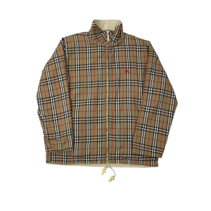 Burberry reversible nova jacket