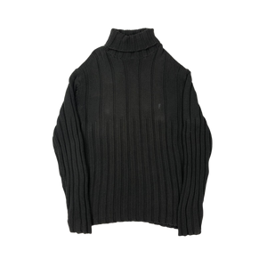 YSL turtleneck knit sweatshirt