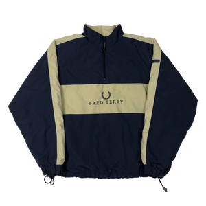 Fred Perry fleeced pullover