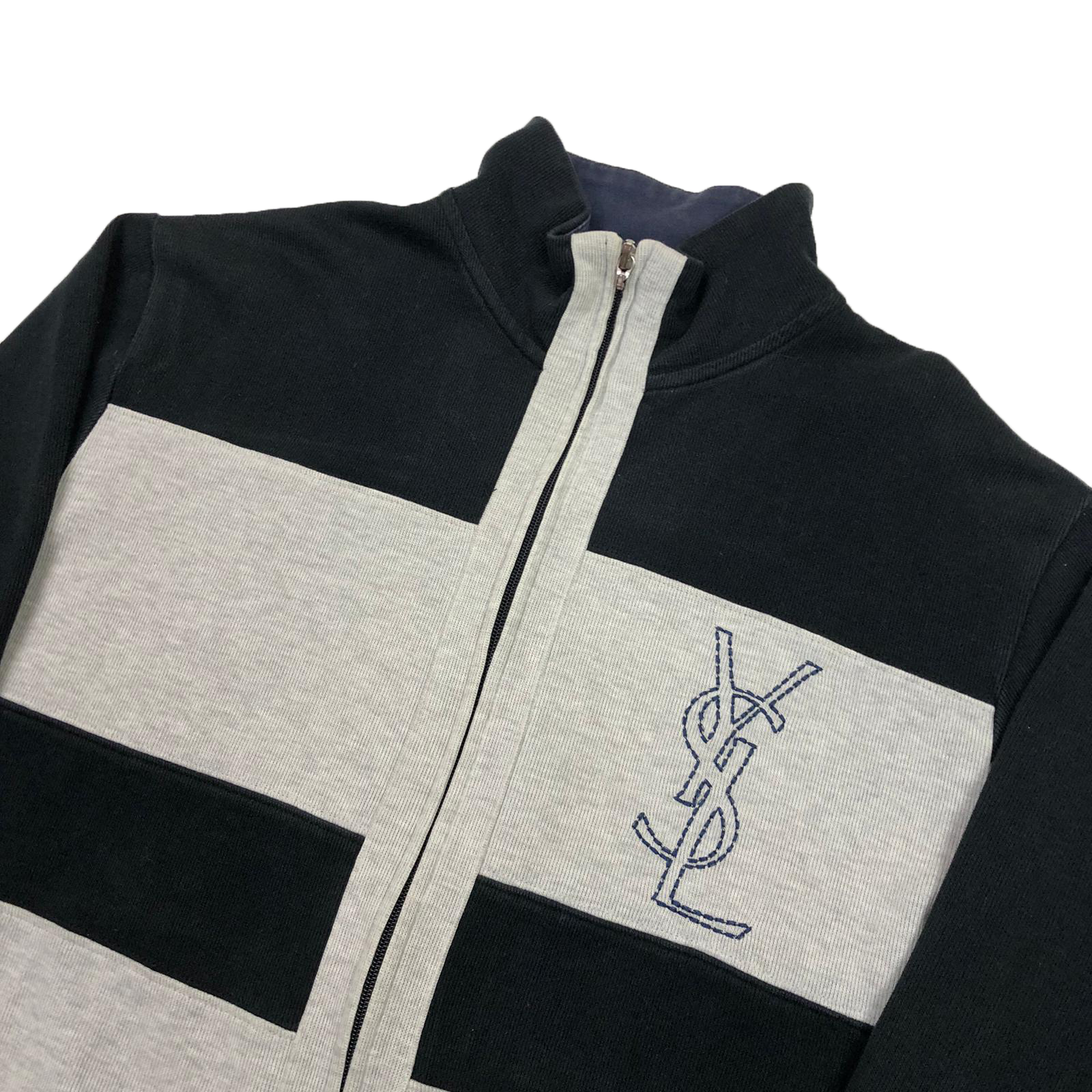 YSL full zip sweatshirt