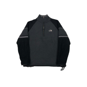 The North Face 1/4 zip knit