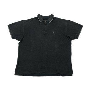 YSL 1/4 zip polo shirt