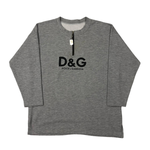 Dolce and Gabanna 1/4 zip