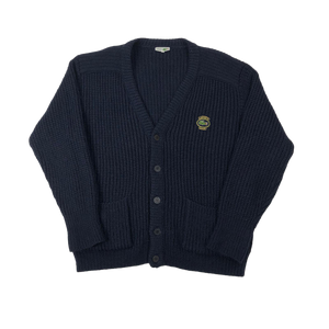 Lacoste heavy knit cardigan