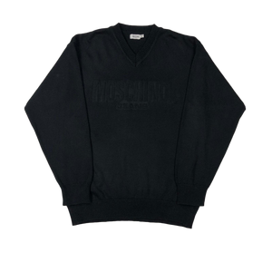 Moschino tonal knit sweatshirt