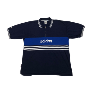 Adidas 1/4 zip polo shirt