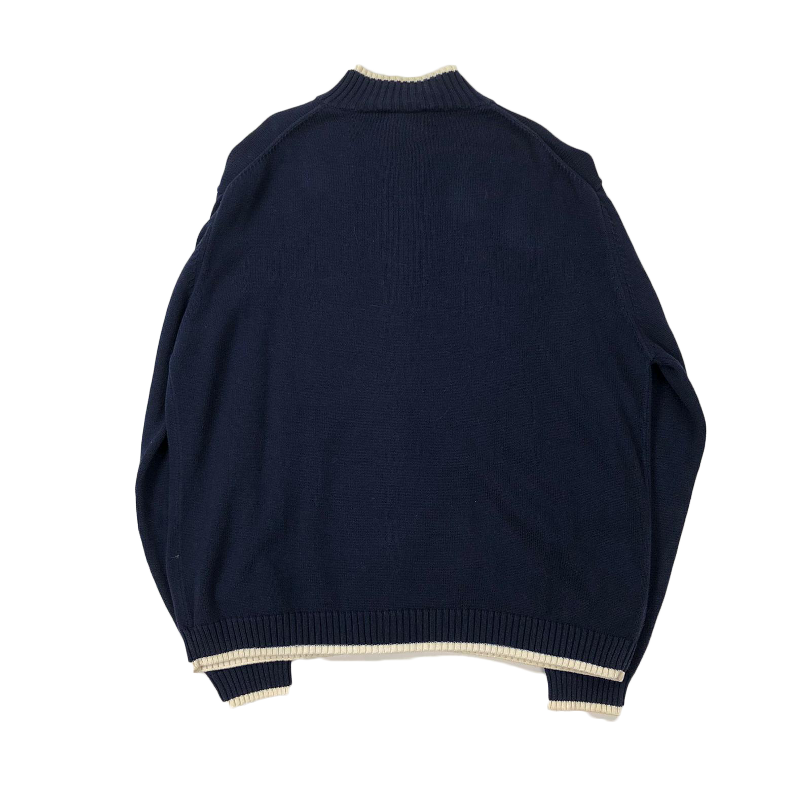 YSL full zip knit sweatshirt