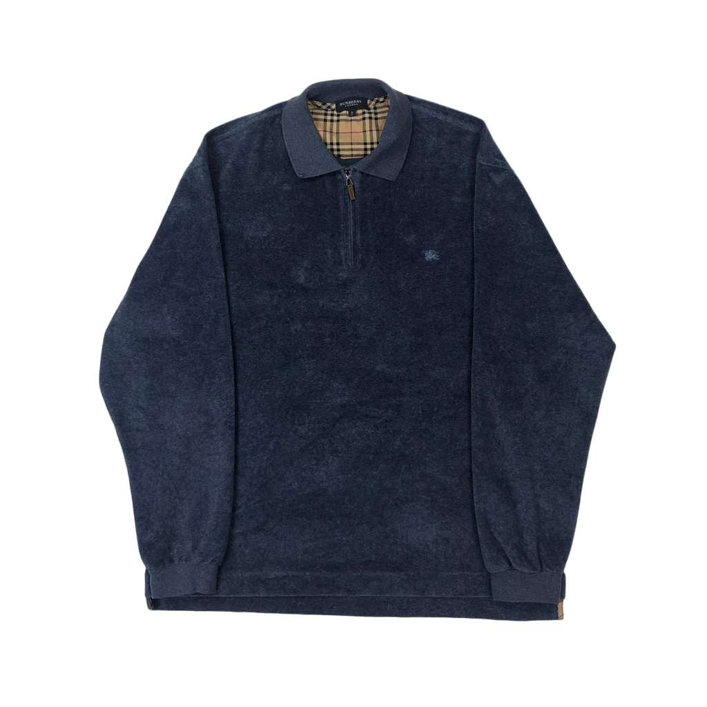 Burberry 1/4 zip sweatshirt