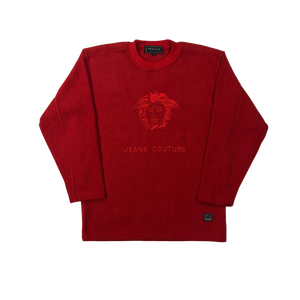 Versace fleece sweatshirt