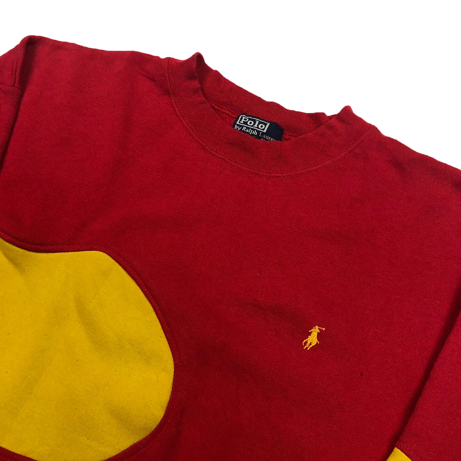 Reworked Ralph Lauren sweatshirt