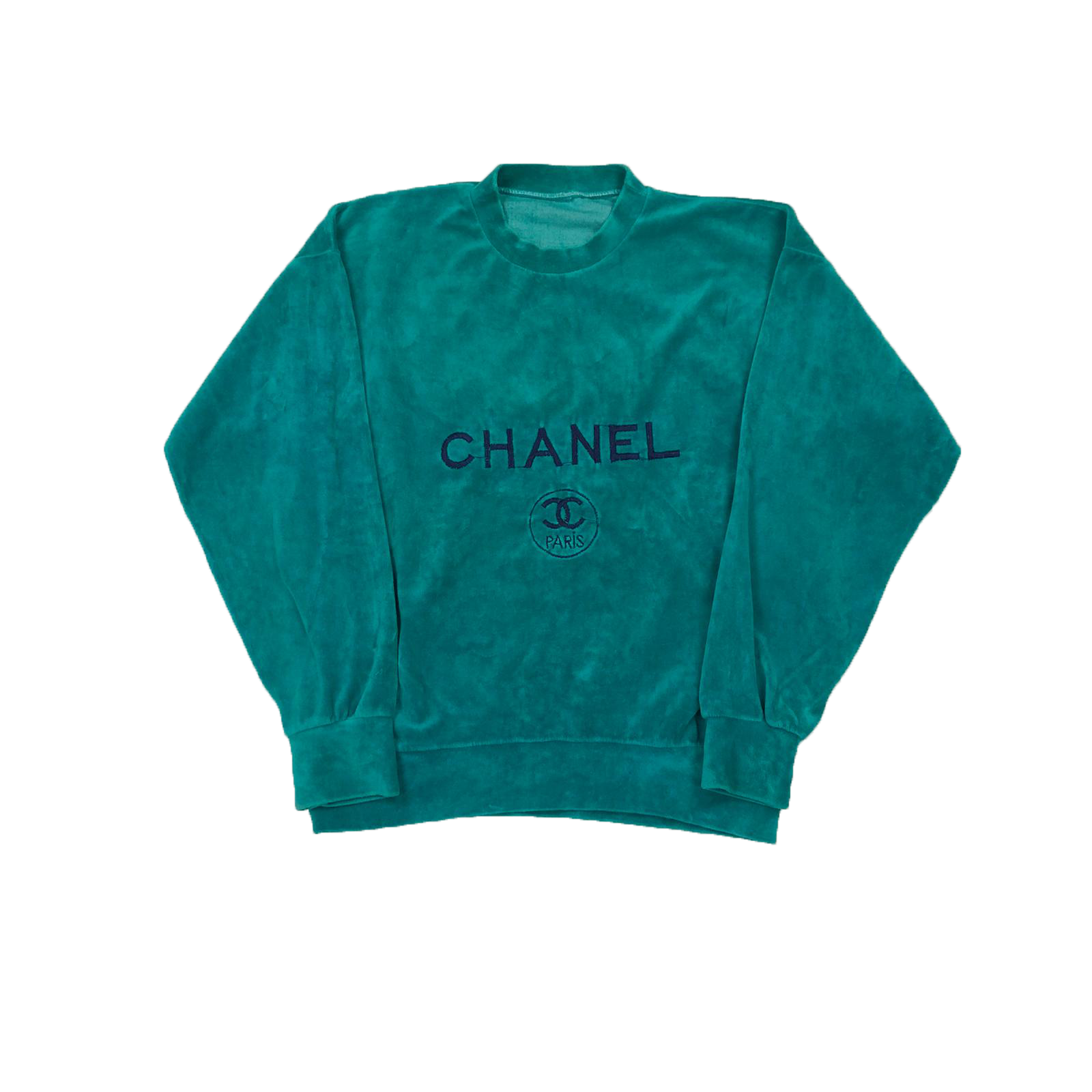 Chanel Velour sweatshirt