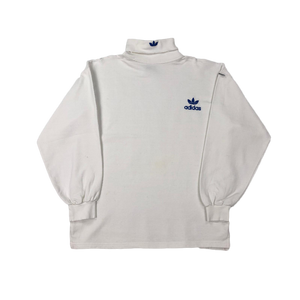 Adidas turtleneck lightweight sweatshirt