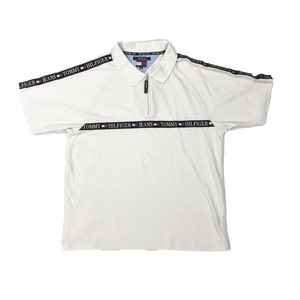 Tommy Hilfiger 1/4 zip polo shirt