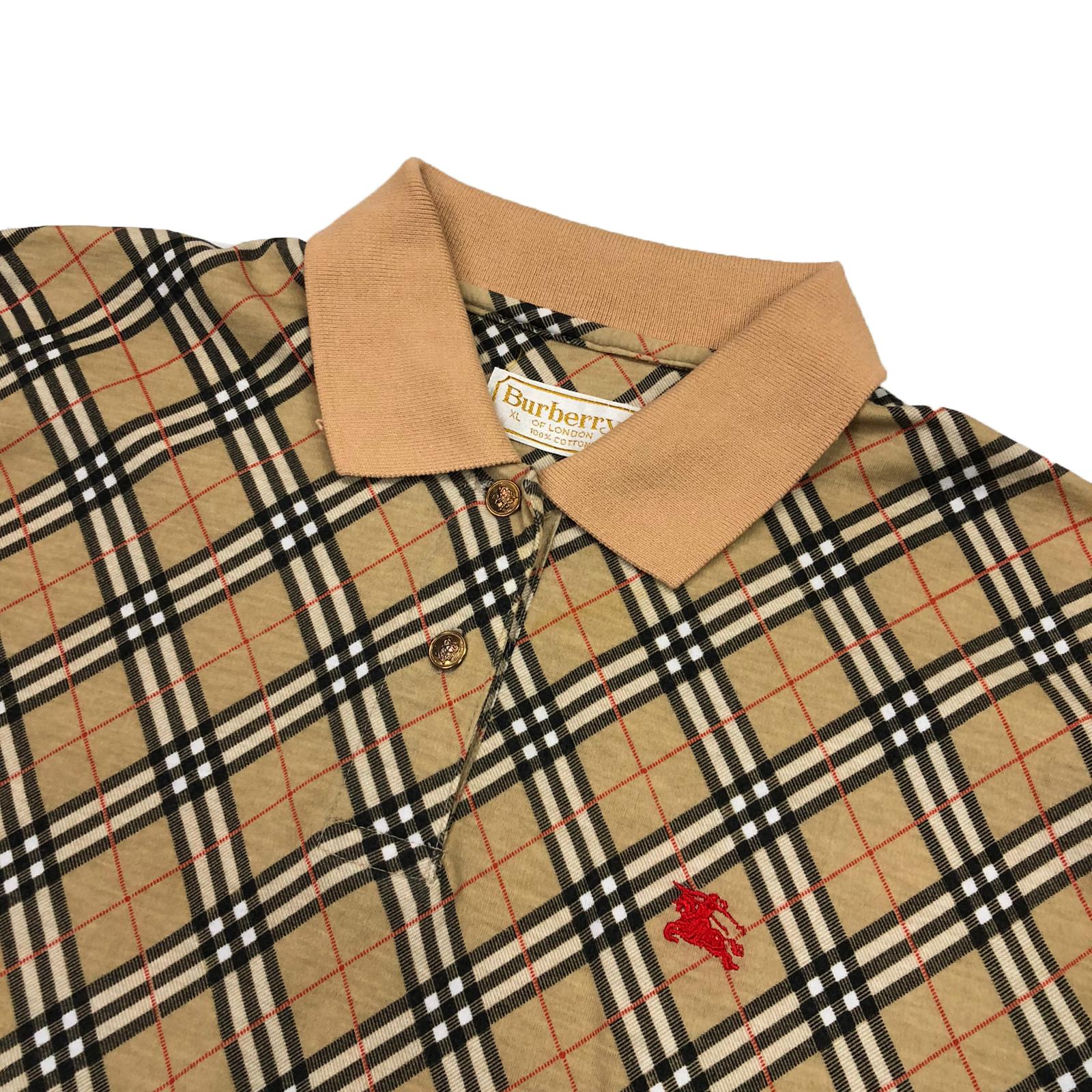 Women's Burberry polo shirt